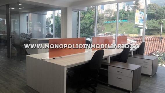 Oficina Amoblada Renta - Poblado La Aguacatala Cod: 12830