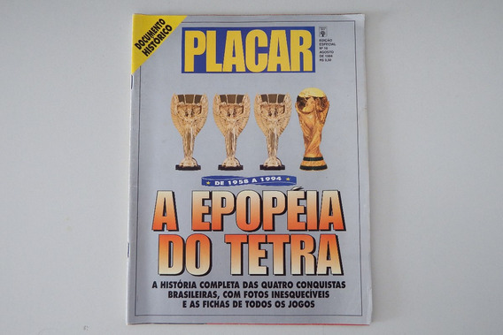 Placar - Edição Especial - A Epopéia Do Tetra