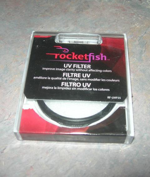 Filtro Uv 58mm Rocketfish - Original Direto Dos Eua