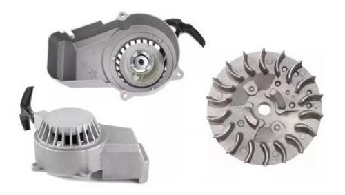 Puxador Partida Manual + Magneto 49cc Mini Moto/quadriciclo