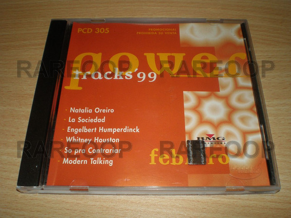 Powertracks (cd) Natalia Oreiro Whitney Houston B2