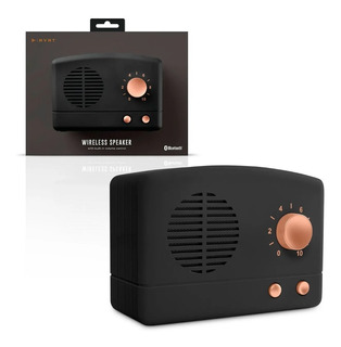 Parlante Diseño Retro Con Bluetooth, De 3w Rms