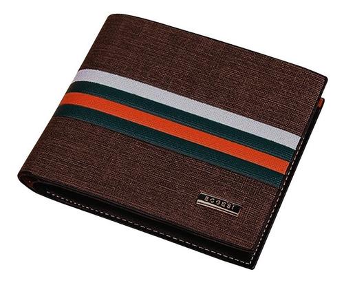 Imagen 1 de 9 de Billetera Para Hombre Formal  - Exclusiva Multicolor