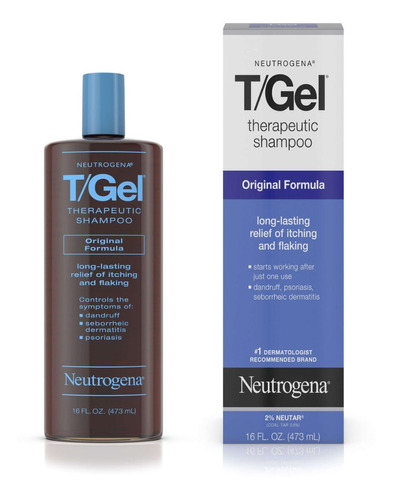 Shampoo Neutrogena T Gel 473ml Anticaspa Therapeutic Formula