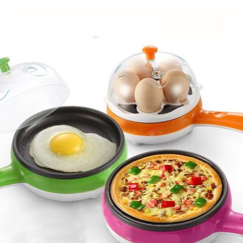 Hervidor De Huevos Freidor Electrico Cocedora Sarten 2en1 | Mercado Libre