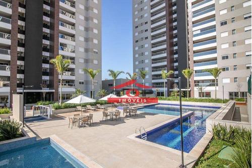 Imagem 1 de 30 de Apartamento Com 3 Dormitórios À Venda, 96 M² Por R$ 830.000,00 - Vivaz Home Resort - Bauru/sp - Ap1025