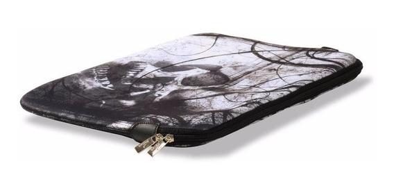 Case Para Notebook Classic 10 - Caveira Negra