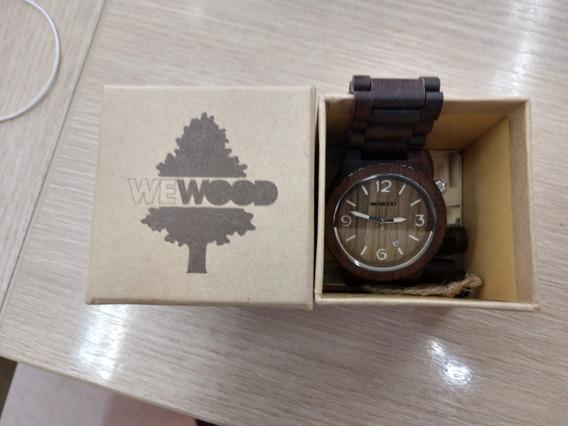 Relógio We Wood Alpha Chocolate