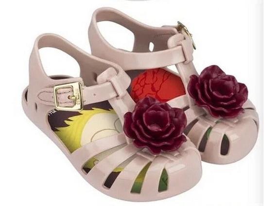 Sandália Tipo Mini Melissa Pequeno Príncipe Pronta Entrega