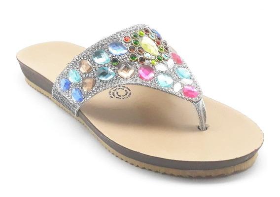 Sandalias Dama Huarache Calzado Zapato Casual Chancla Ca1767