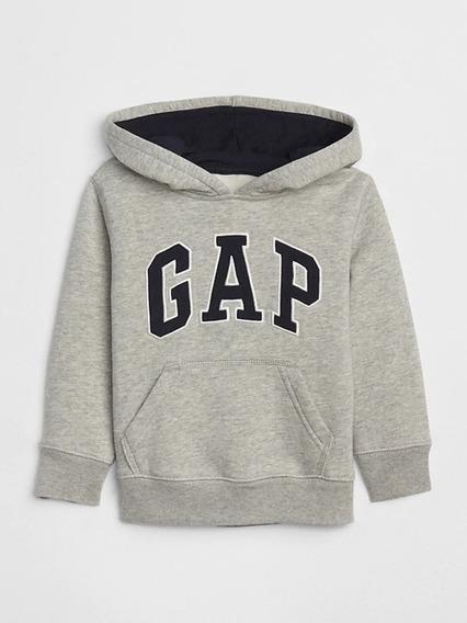 Blusa Moletom Baby Gap Com Capuz E Ziper Fleece