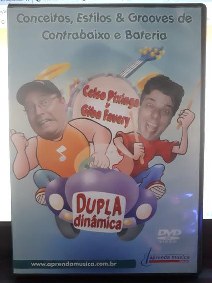 Dvd Conceitos, Estilos E Grooves De Contrabaixo E Bateria
