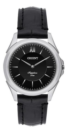 Relógio Orient Feminino Slim Fbscs002 P3px Safira Couro