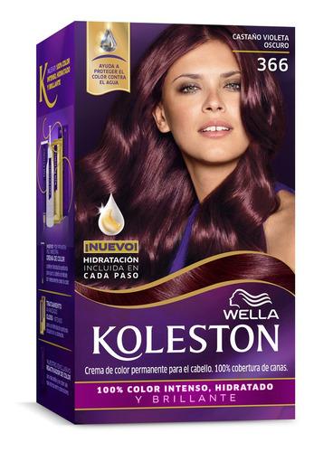 Tinta Koleston Kit 366 Castaño Violeta Oscuro
