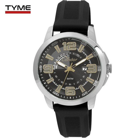 Relógio Condor Masculino Co2115yd/8p Silicone - Nota Fiscal