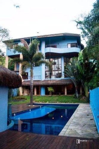 Imagem 1 de 30 de Casa Com 4 Dormitórios À Venda, 867 M² Por R$ 2.500.000,00 - Parque Das Artes - Embu Das Artes/sp - Ca0357