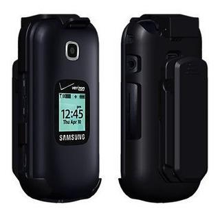 Verizon Wireless Samsung Gusto 3 Oem Funda Giratoria Con Cli