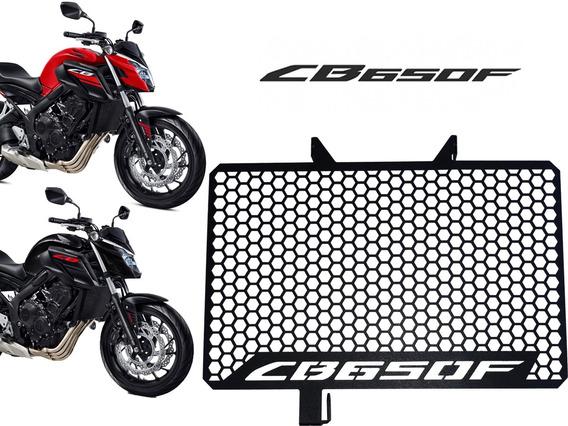 Protetor De Radiador Grade Honda Cb650f Cb 650f - Esportivo