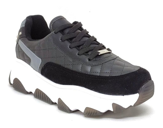 Tênis Feminino Chunky Sneaker Vizzano 1343.102 Preto