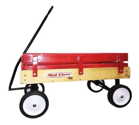 Vagon Infantil De Arrastre Tipo Americano Wagon