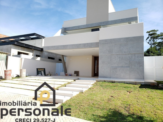 Casa Em Condomínio Em Sorocaba, Alphaville Nova Esplanada - Ca00332 - 34175037