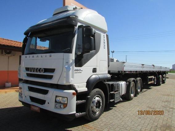 Iveco Stralis 460 6x2 - Carreta Vanderleia 14,60m