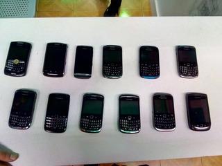 Lote De Blackberry Liberados Y Con Garantía