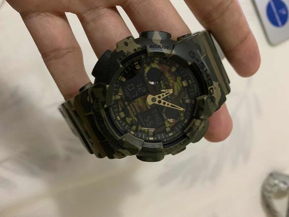 Relógio Casio G-shock Standard Camuflado