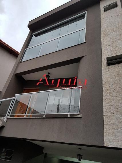Sobrado Com 3 Dormitórios À Venda, 280 M² Por R$ 820.000,00 - Parque Oratório - Santo André/sp - So0846