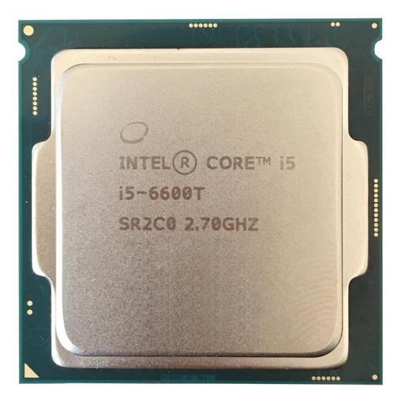 Processador gamer Intel Core i5-6600T CM8066201920601 de 4 núcleos e 2.7GHz de frequência com gráfica integrada