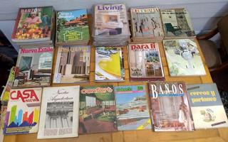 Lote 87 Revistas Decoracion Living Decoralia Etc