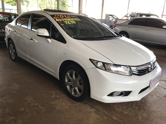Honda Civic Sedan Exs 1.8 Flex 16v Aut. 4p 2012