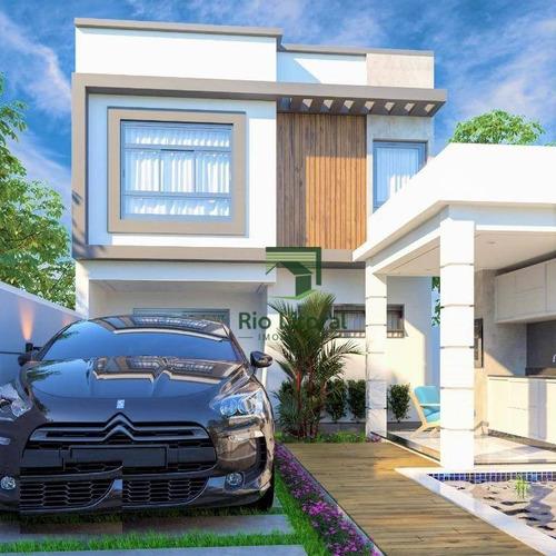 Imagem 1 de 4 de Casa À Venda, 138 M² Por R$ 800.000,00 - Ouro Verde - Rio Das Ostras/rj - Ca1221
