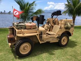 Jeep Willys Militar - Rato Do Deserto