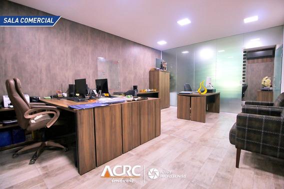 Acrc Imóveis - Sala Comercial Mobiliada Para Venda No Bairro Centro - Sa00584 - 67695546
