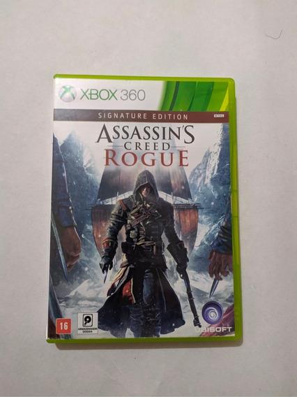 Jogo Assassins Creed Rogue Mídia Física Xbox 360