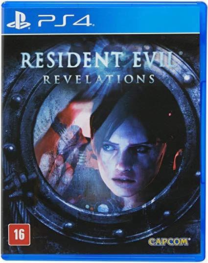 Resident Evil: Revelations - Ps4 Midia Física