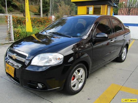 Chevrolet Aveo Emotion Mt 1600 Aa Fe