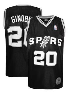 Camiseta Basquet Nba San Antonio Spurs Manu Ginobili Basket