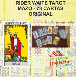 Tarot Rider Waite - Mazo De 78 Cartas