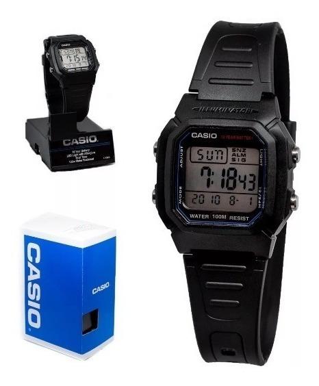 Relogio Casio Digital W-800h-1avcf Original Frete Grátis