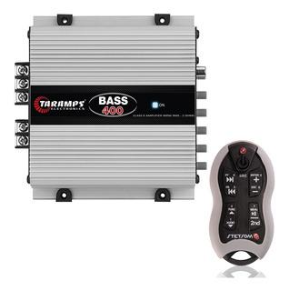Modulo Taramps 400w Rms Bass 400 2 Ohms + Controle Cinza