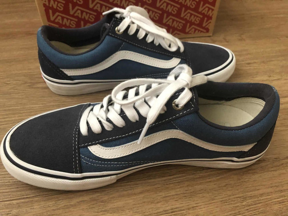 Tenis Vans Ultracush Hd Pro Azul Num 40 Semi Novo Original