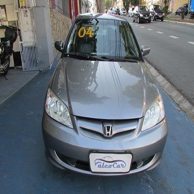 Honda Civic 1.7 Lx Completo / 2004