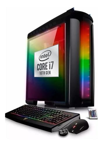 Imagen 1 de 7 de Pc Armada Gamer Intel I7 10700 10ma Ram 8gb Ssd 480 Full Hd