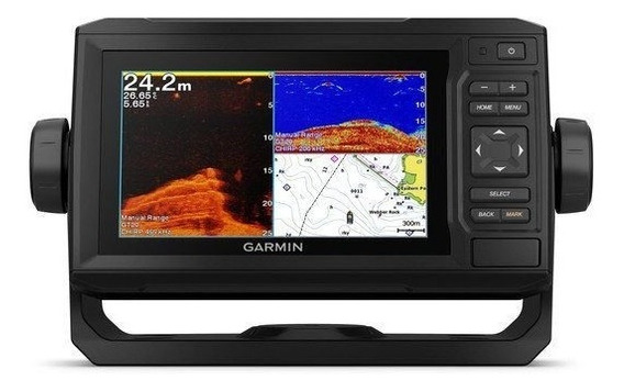 Gps Sonar Garmin Echomap Plus 62cv Com Transdutor Gt20-tm