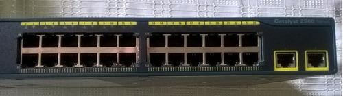 Imagen 1 de 5 de Switch Cisco Catalyst 2960 - 24 Puertos  Nuevo En Caja