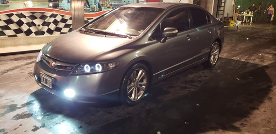 Excelente Estado Honda Civic Si 2008 99300 Km Impecable