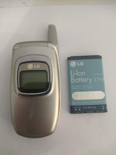 Celular Lg Bx4170 - Com Bateria (retirada De Peças)