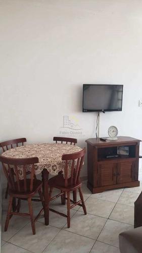 Imagem 1 de 18 de Apartamento Com 2 Dorms, Itararé, São Vicente - R$ 240 Mil, Cod: 3077 - V3077